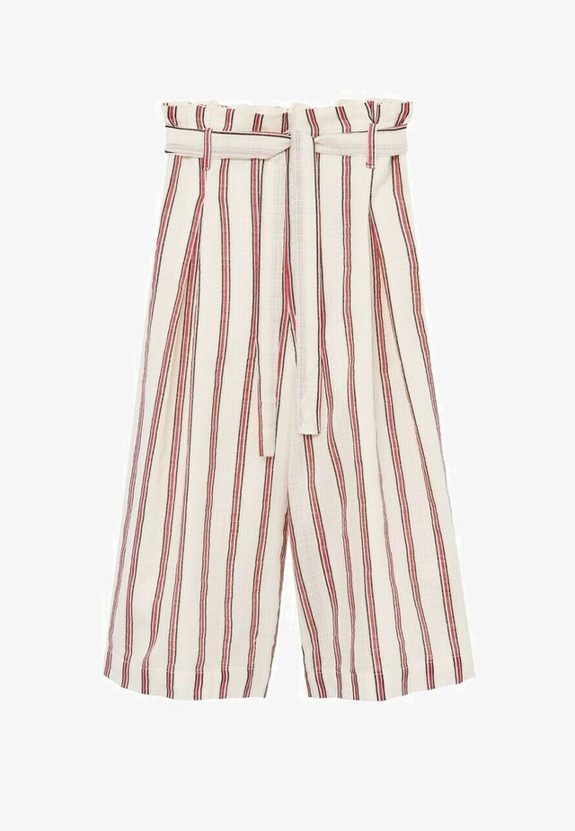 Trousers - bianco sporco
