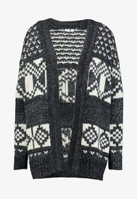 GAP - FAIRISLE OPEN - Cardigan - dark charcoal - 3