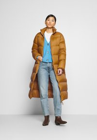 Part Two - EDLA - Down coat - bronze brown - 1