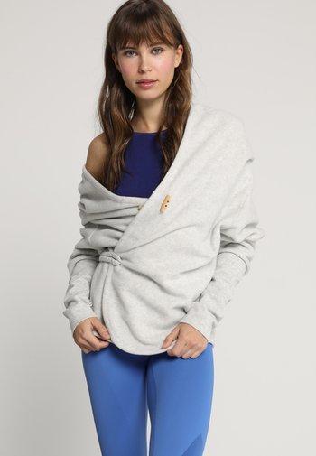 SUPTA - Giacca in pile - light grey