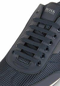 BOSS - Sneakers laag - dark blue - 6