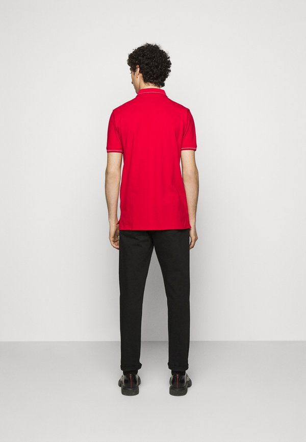 HUGO DINOSO - Koszulka polo - open pink/czerwony Odzież Męska PUUX