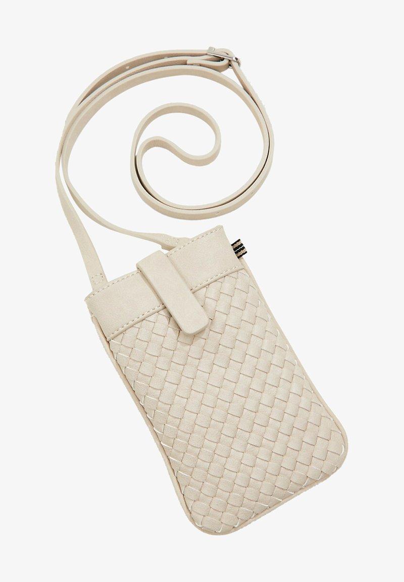 Esprit - Across body bag - light beige