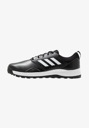 TRAXION - Golfskor - core black/footwear white/silver metallic