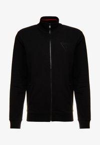 Guess - WIL TRACK SLIM FIT  - Zip-up hoodie - jet black - 4