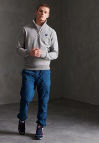 Superdry - Cargo trousers - bayside navy - 1