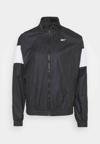 Reebok - LINEAR LOGO JACKET - Training jacket - black - 4