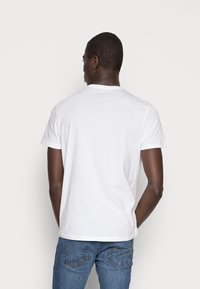 TOM TAILOR - DOUBLE PACK CREW NECK TEE - T-shirt - bas - white - 2