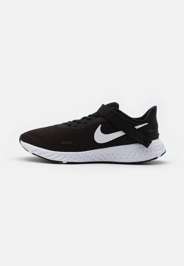 REVOLUTION 5 FLYEASE - Neutral running shoes - black/white/anthracite