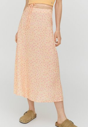 A-line skirt - coral