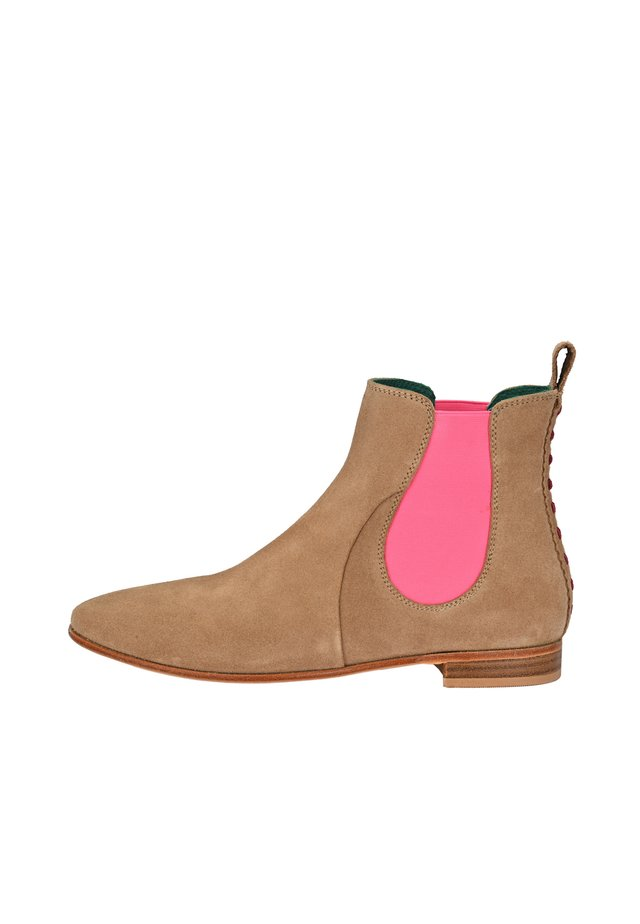 CHELSEA BOOT TILDA CHELSEA BOOT - Classic ankle boots - beige pink