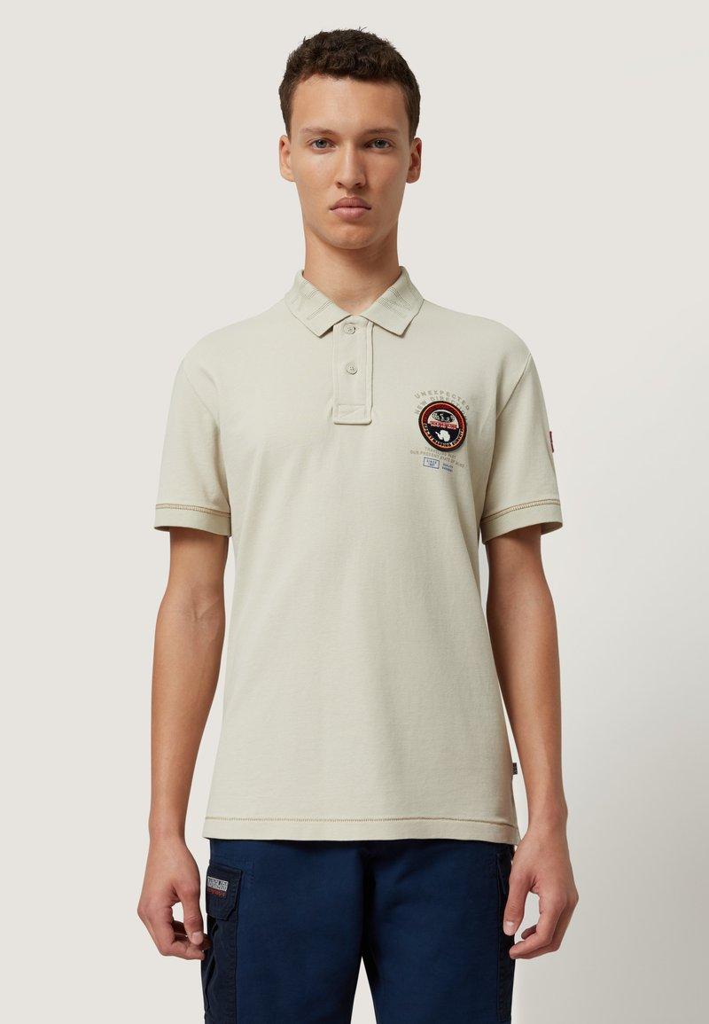 Napapijri - ELICE - Polo shirt - dove grey