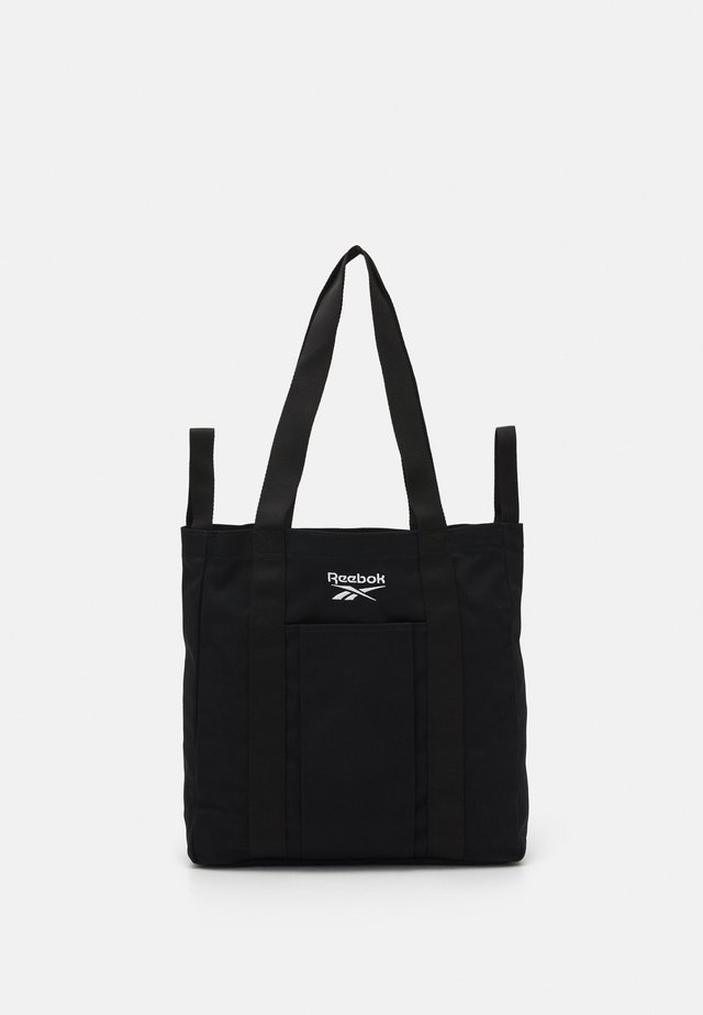 TOTE UNISEX - Shopping bag - black