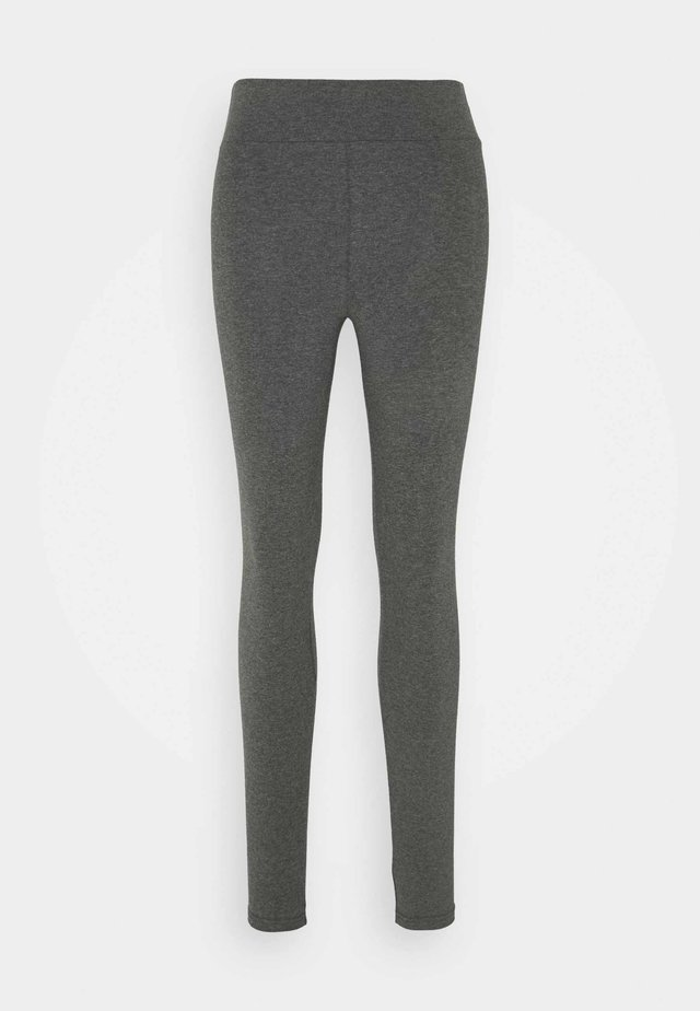 HIGH WAISTED DYLAN - Leggings - Trousers - anthracite
