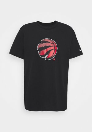 NBA TORONTO RAPTORS ESSENTIAL LOGO TEE - Article de supporter - black