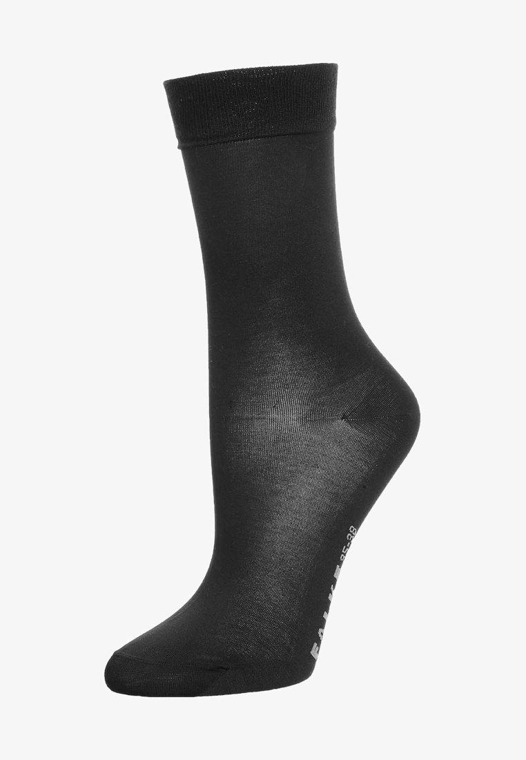 FALKE - COTTON TOUCH - Socks - black