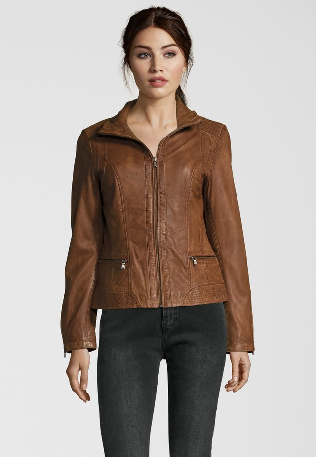 TERRY - Leather jacket - meera