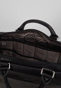 Jost - MALMÖ BUSINESS BAG - Briefcase - black - 4