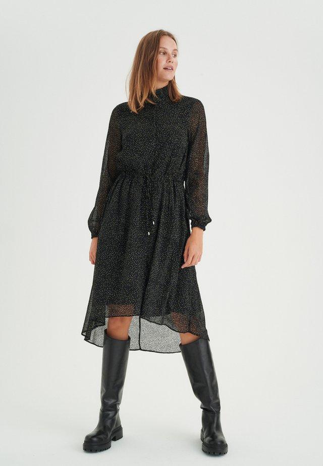 VILMA - Sukienka letnia - black minimal dot