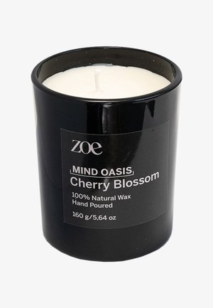 CHERRY BLOSSOM - Scented candle - black