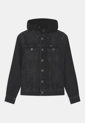 TREY - Denim jacket - black
