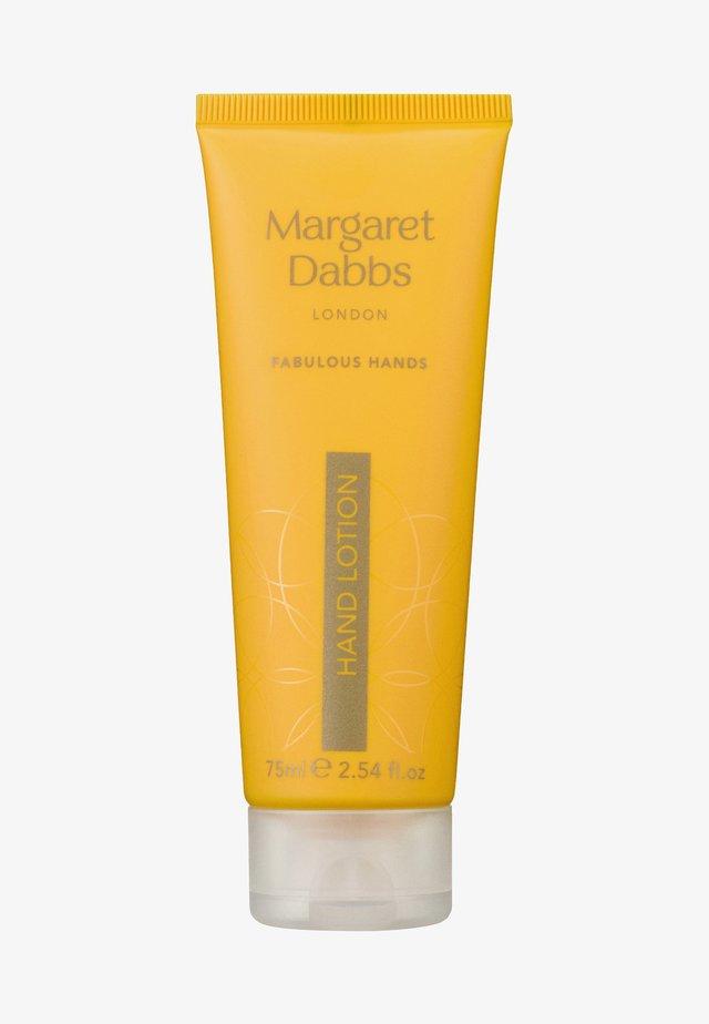 MARGARET DABBS INTENSIVE HYDRATING HAND LOTION - Hand cream - -