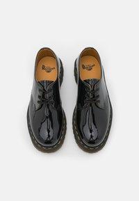 Dr. Martens - 1461 LAMPER UNISEX - Šněrovací boty - black - 3