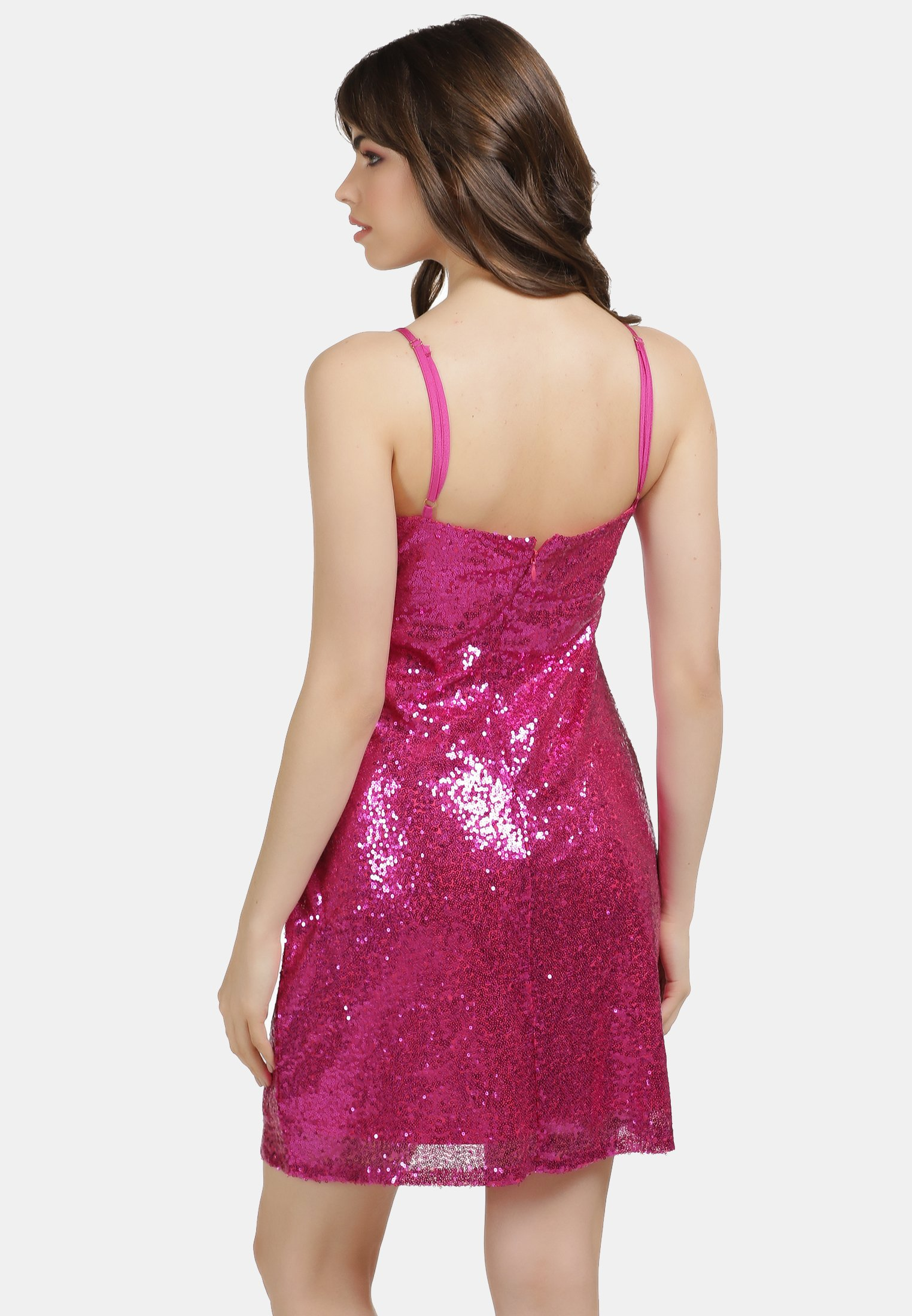 Factory Price Women's Clothing myMo PAILLETTENKLEID Cocktail dress / Party dress pink 6uJSl79GZ