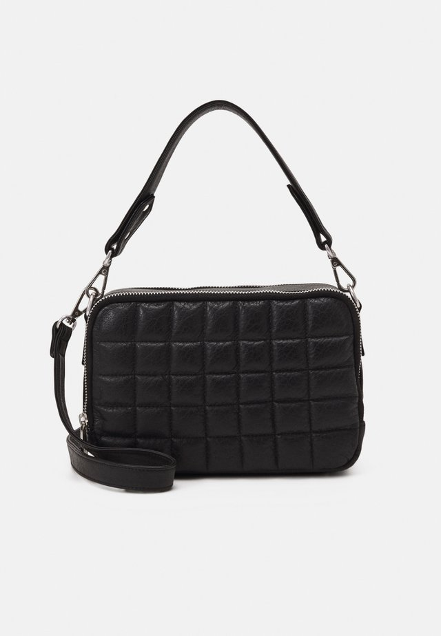 FLO 2 ROOM CROSSBODY - Olkalaukku - black