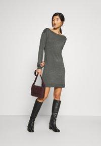 Anna Field - Jumper dress - dark grey mélange - 1