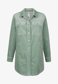 Dress In - Short coat - salbeigrün - 4