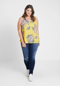 Dorothy Perkins Curve - BACK BUILT UP CAMISOLE - Top - multi-coloured - 1