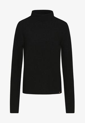 CIBRENDA - Fleece jumper - schwarz