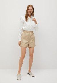 Mango - PETRA-I - Button-down blouse - blanco roto - 1