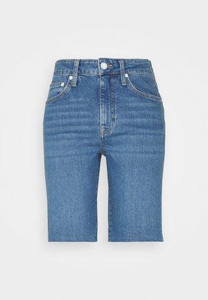 GLORIA - Szorty jeansowe - indigo icon street