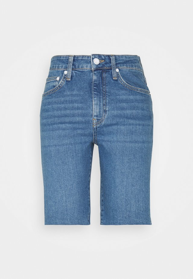 GLORIA - Short en jean - indigo icon street
