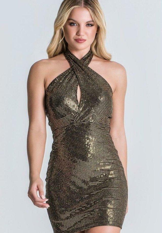 Vestito elegante - black/gold