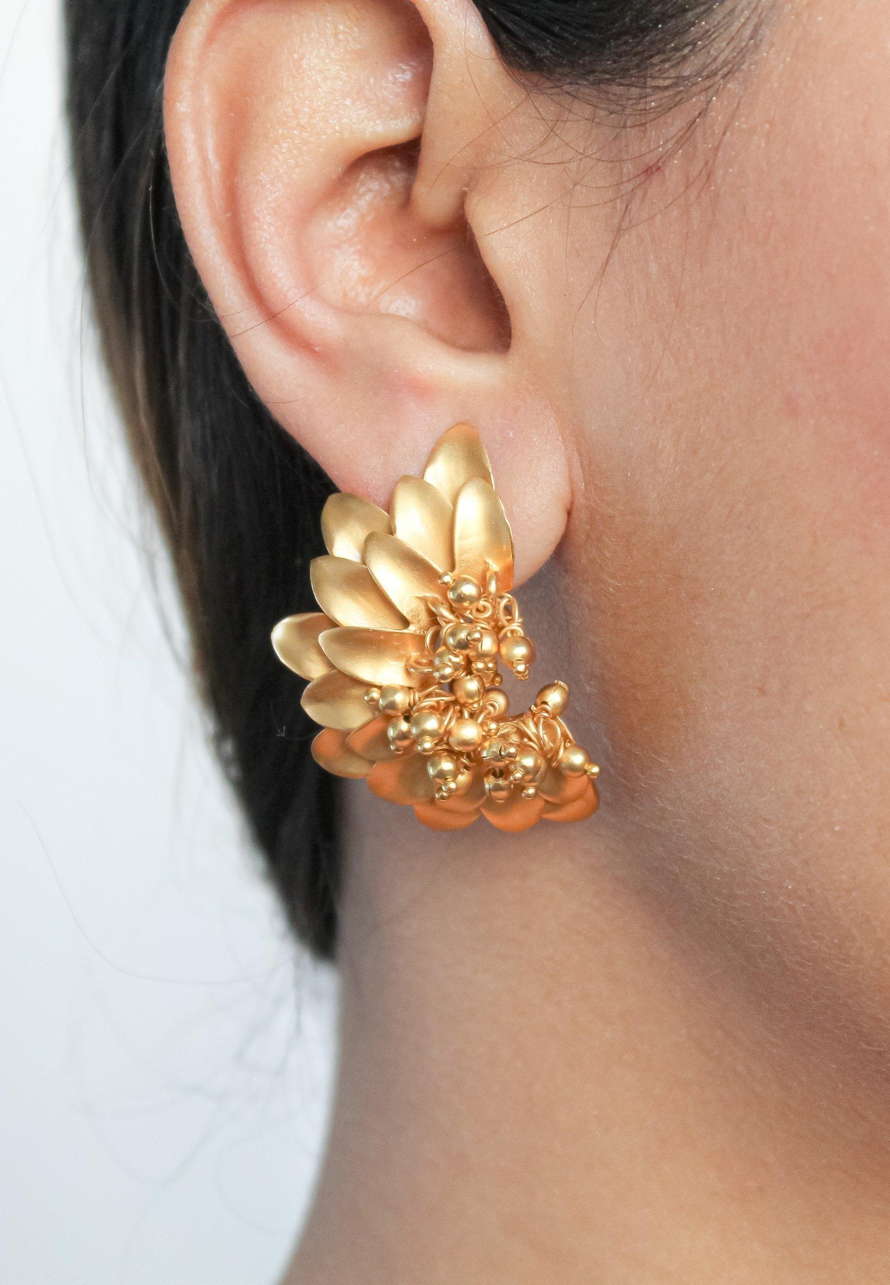 Femme JAEN SUNFLOWER - Boucles d'oreilles