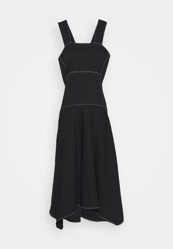 RUMPLED DRESS - Vestido informal - black