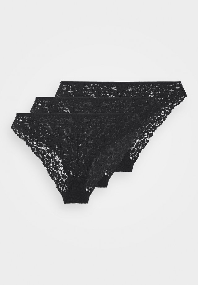 GREER 3PP BRIEF  - Slip - black