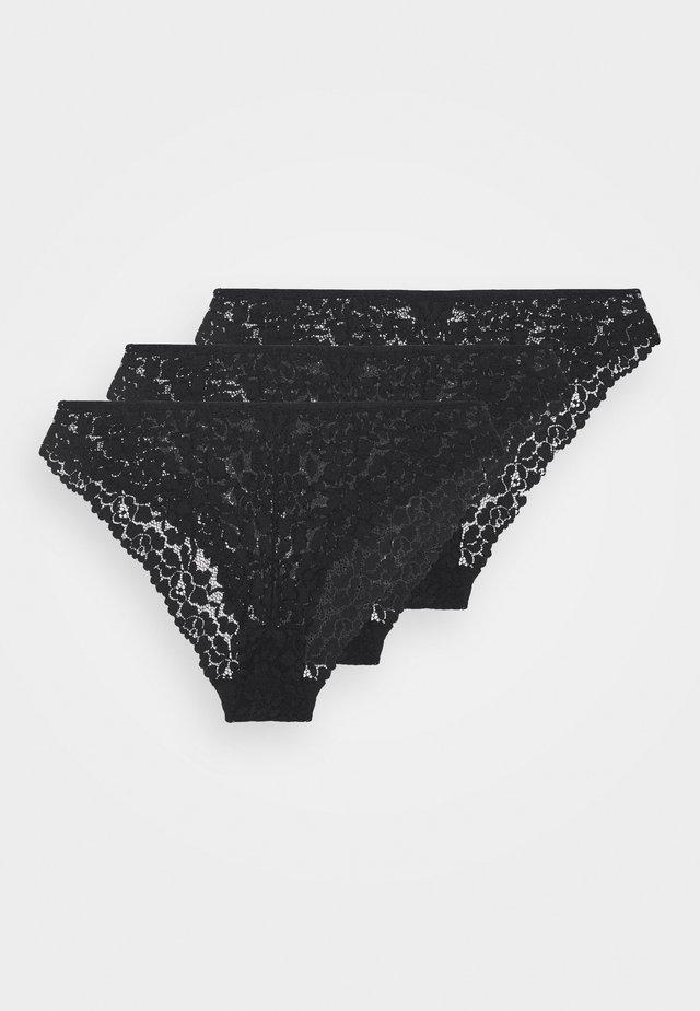 GREER 3PP BRIEF  - Figi - black