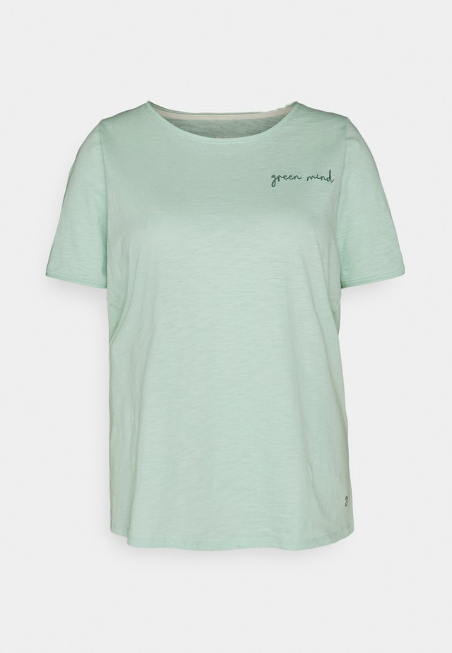 FRONT ARTWORK - T-shirt print - pale mint