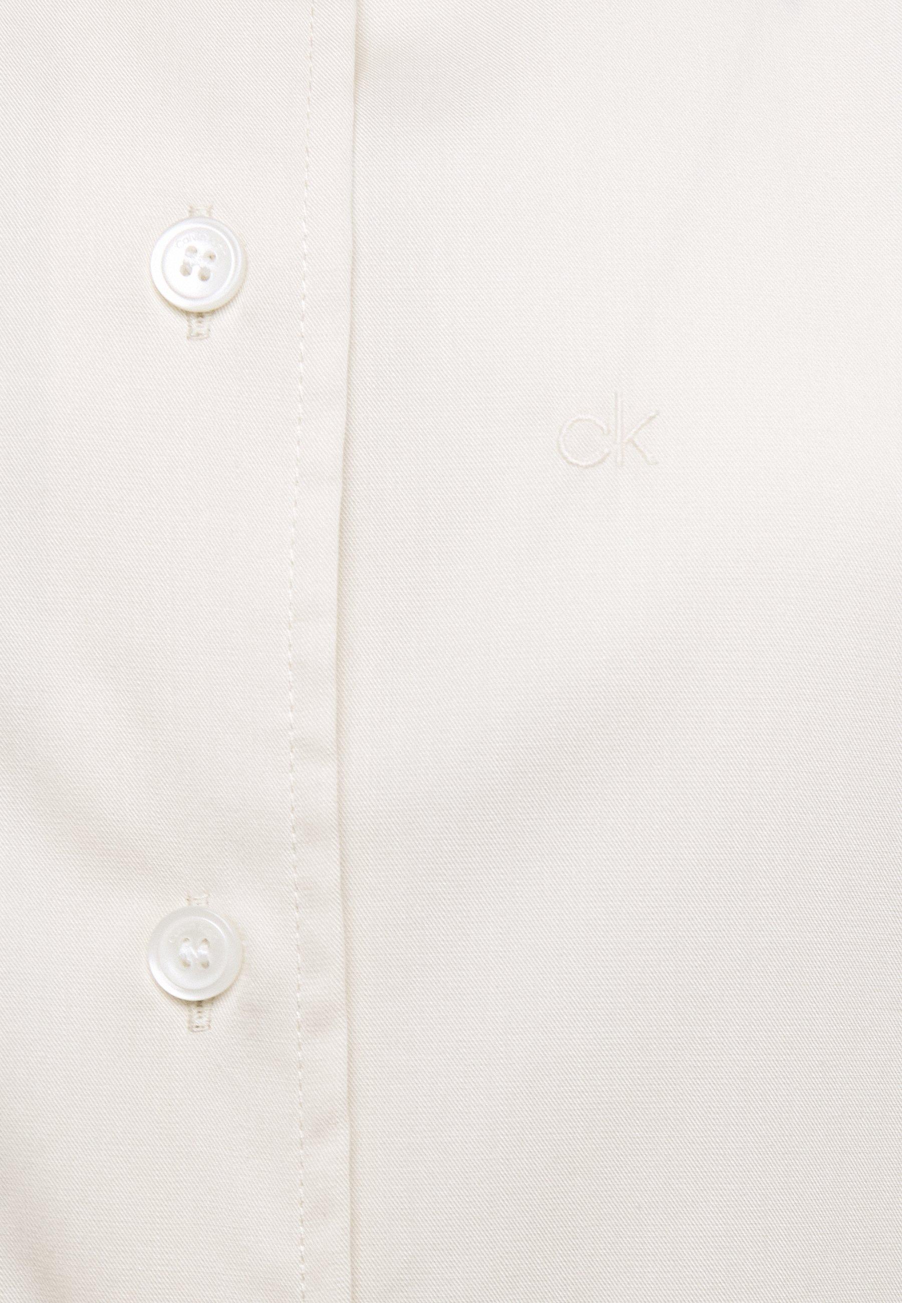 Clearance Women's Clothing Calvin Klein OXFORD YAX Button-down blouse white mN79YtcvZ