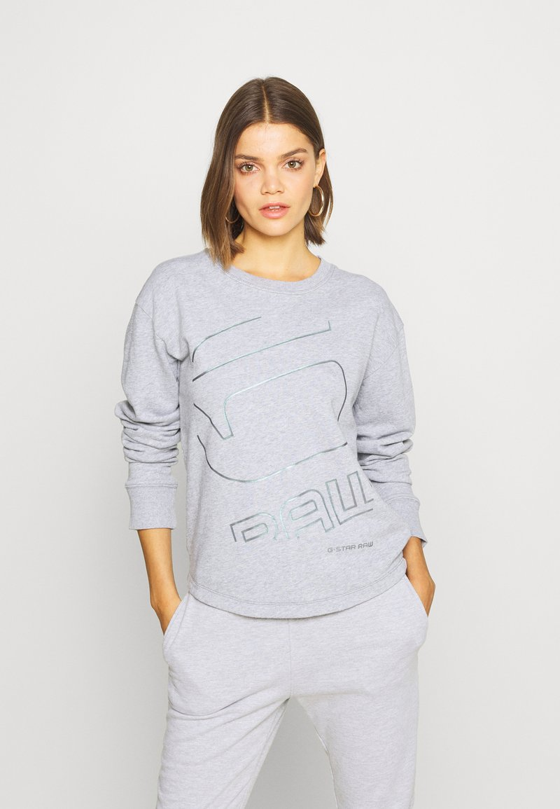 G-Star - GRAPHIC SHIFT - Sweatshirt - grey