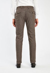 Next - Suit trousers - brown - 1