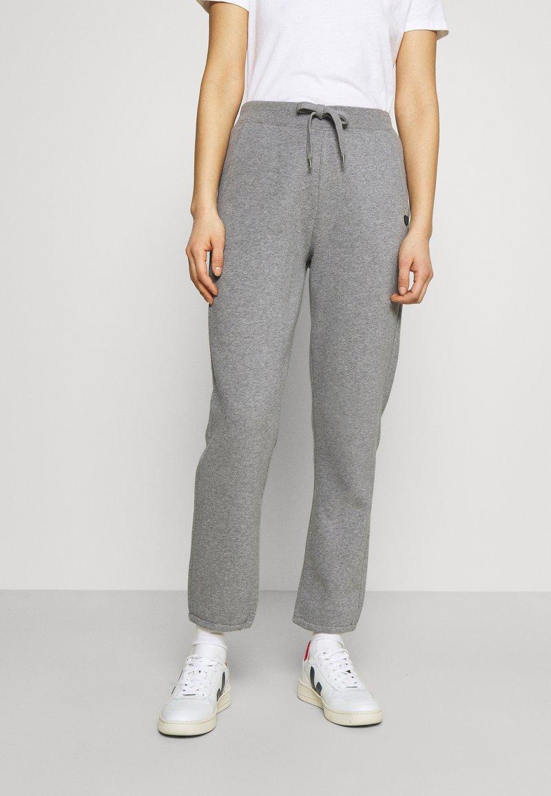 Opus - MALEA - Pantalon de survêtement - easy grey