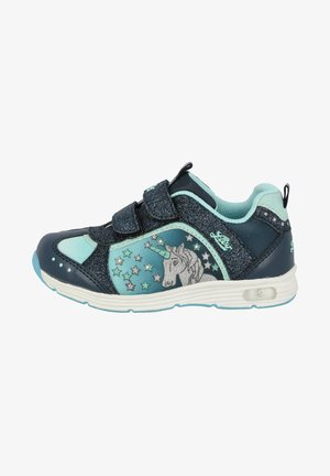 UNICORN BLINKY - Trainers - blue