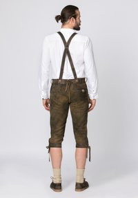 Stockerpoint - JUSTIN - Leather trousers - bison - 1