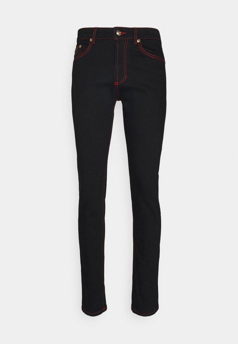 Versace Jeans Couture - COAL - Slim fit jeans - black