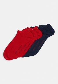 Tommy Hilfiger - QUARTER 6 PACK - Socks - blue/red - 0